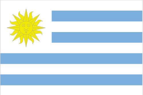 Bandera Uruguay Educación Para La Vida
